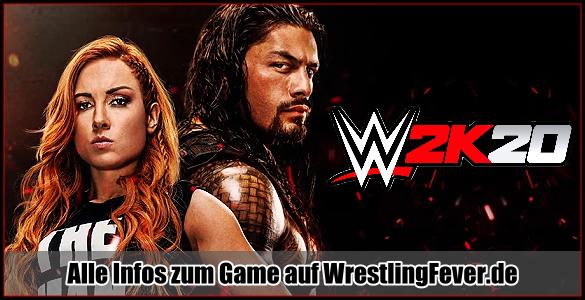 Spiel WWE2K20 Und Das Year 2020 Problem …. EXCLUSIVE WWE2K20